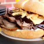 Smoked Beef Brisket Sandwich (2) (Small)