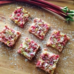 Rhubarb Bars