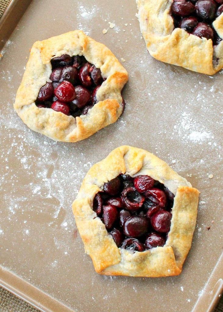 Rustic Cherry Tarts are a summer favorite!