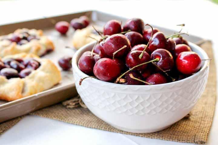 Fresh Cherry Tarts