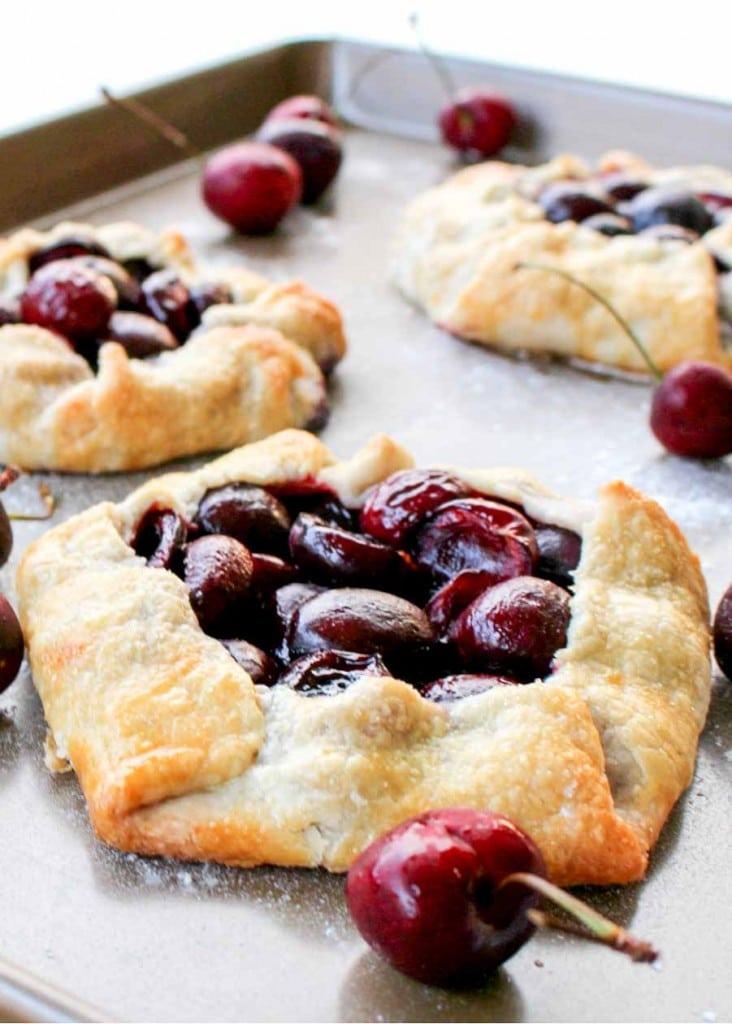 Homemade Cherry Fruit Tarts