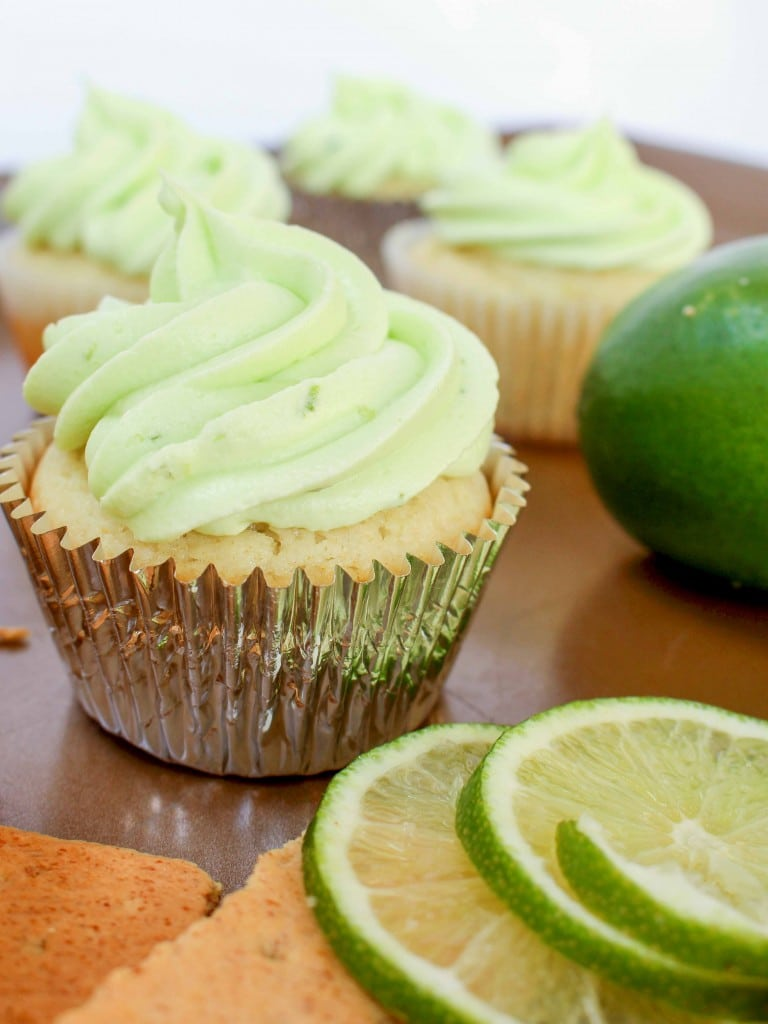Key Lime Cupcakes are a summer potluck favorite!