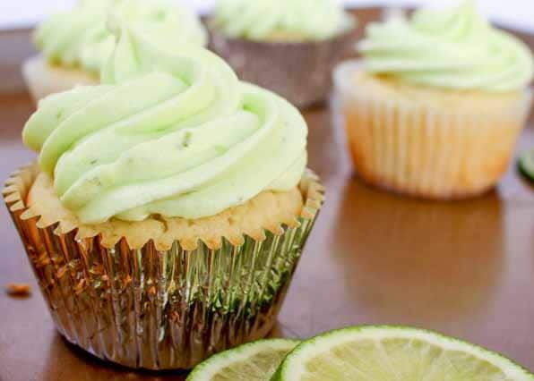 Key Lime Cupcakes are a refreshing summer treat!