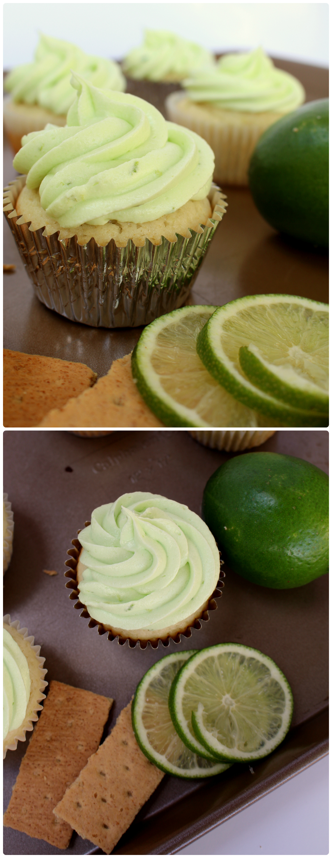 Key lime Pie Cupcakes | www.chocolatewithgrace.com | #cupcake #recipe #key #lime