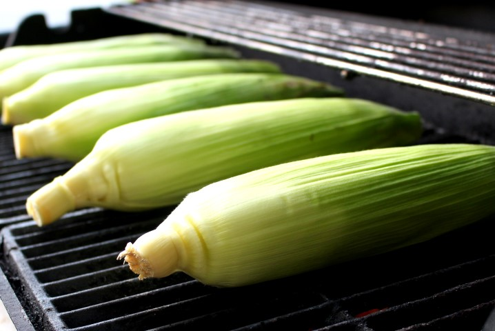 Perfect Grilled Sweet Corn
