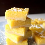 Mango Lemon Bars