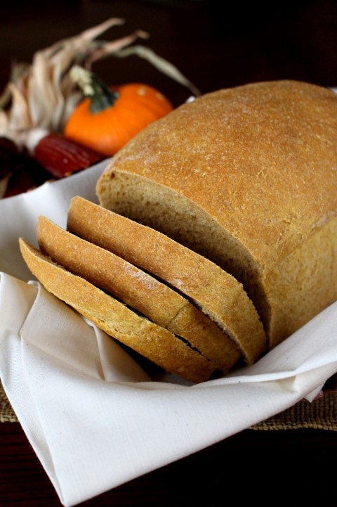 Harvest Squash Bread - The squash in this yeast bread makes it ultra soft and moist.