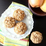 Peanut Butter Apple Muffins