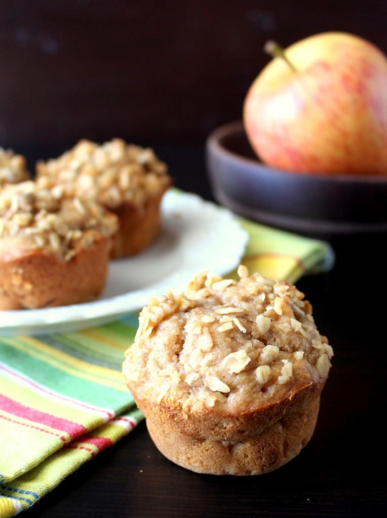 Peanut Butter Apple Muffins
