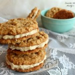 Maple Oatmeal Sandwich Cookies (Small)