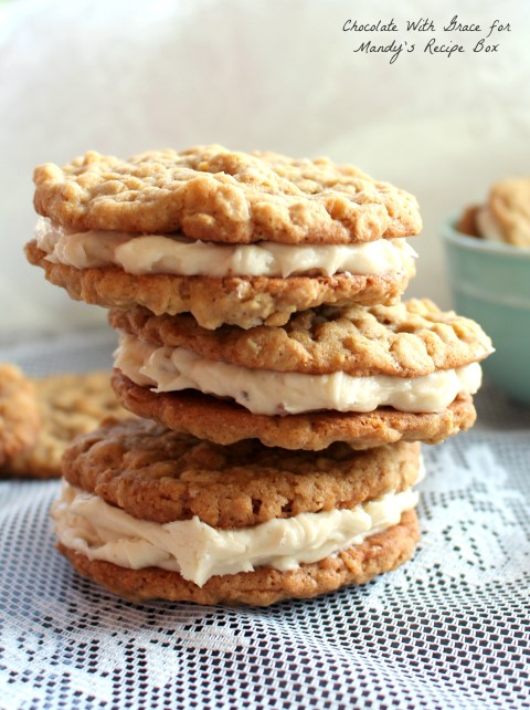 Oatmeal Sandwich Cookies with Maple Buttercream (Small)