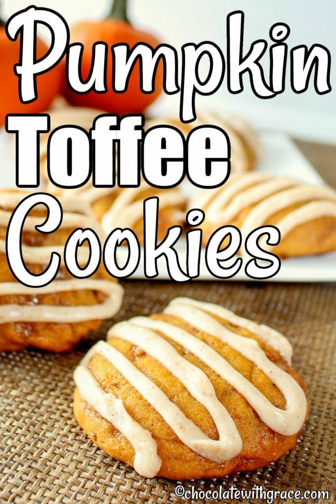 Pumpkin Toffee Cookies