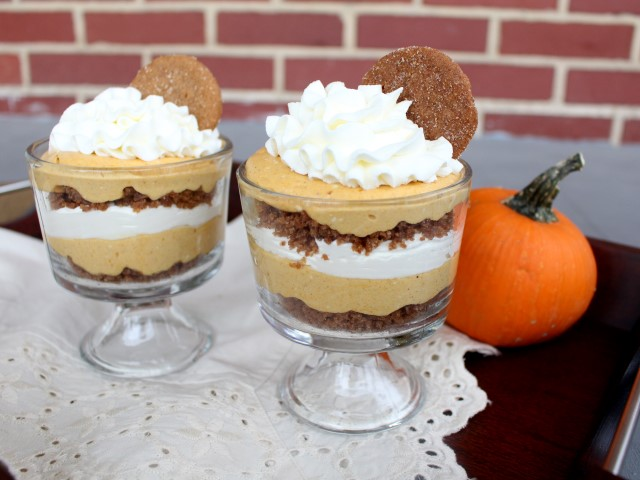 No Bake Pumpkin Cheesecake Trifles  (6) (Small)