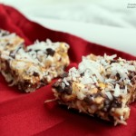 Chocolate Coconut Caramel Popcorn Bars (2)