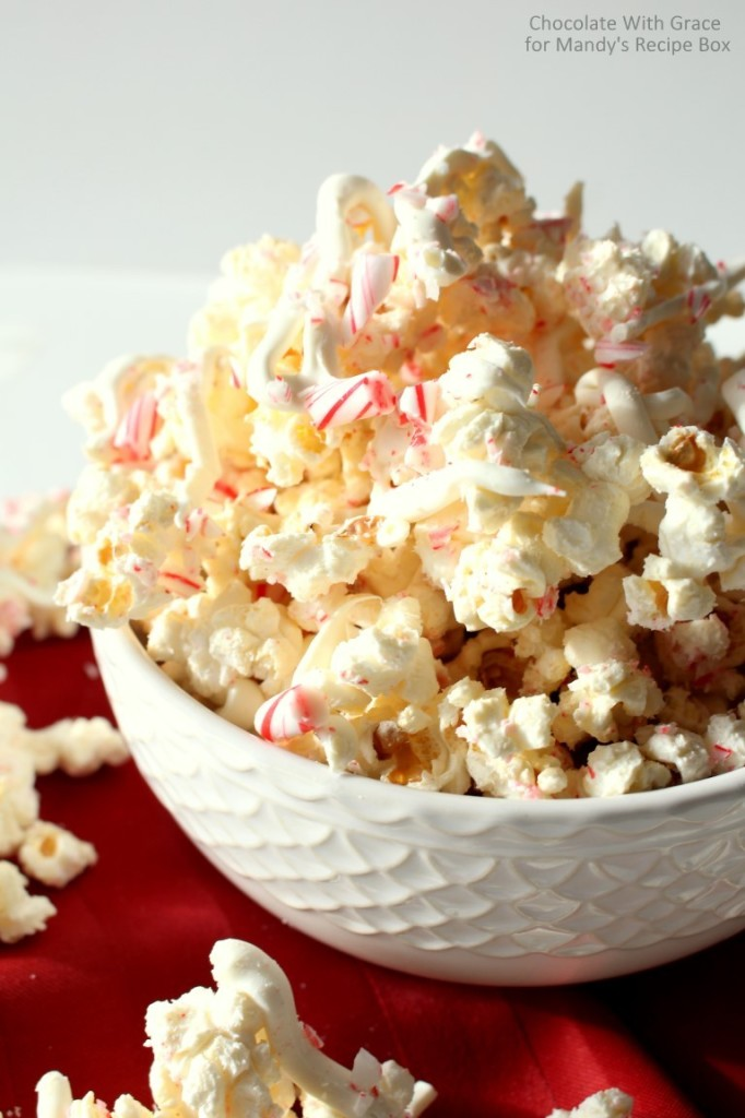 Peppermint White Chocolate Popcorn2