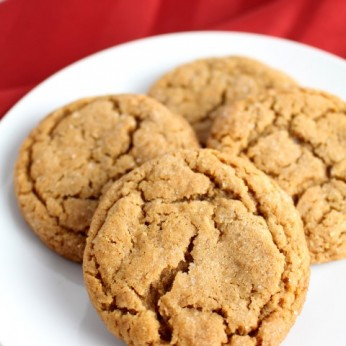 Soft Baked Molasses Crinkle Cookies   www.chocolatewithgrace.com