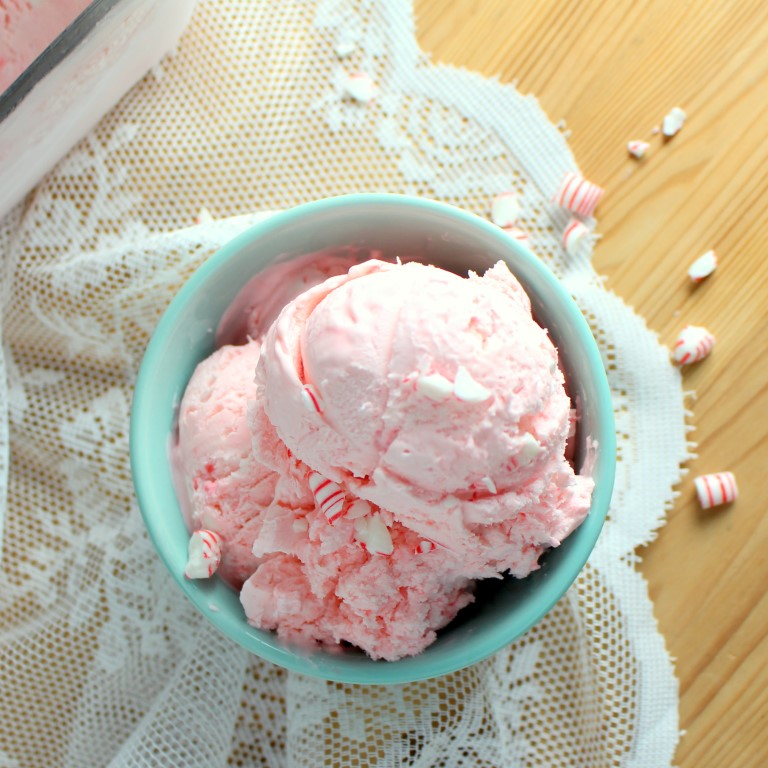 Enjoy Peppermint Ice Cream all year round with this easy, no-churn recipe.