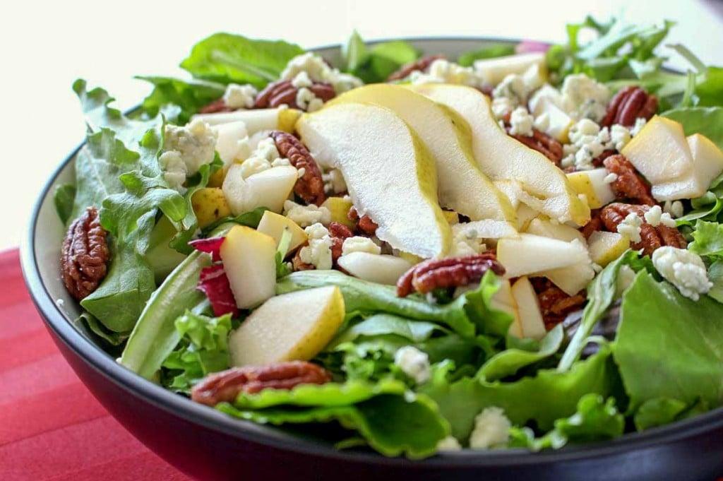 Pear Pecan Salad
