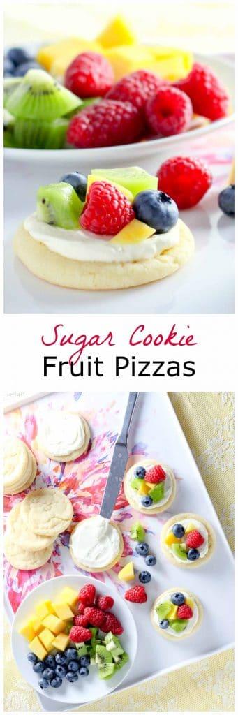 Fruit Pizza Cookies