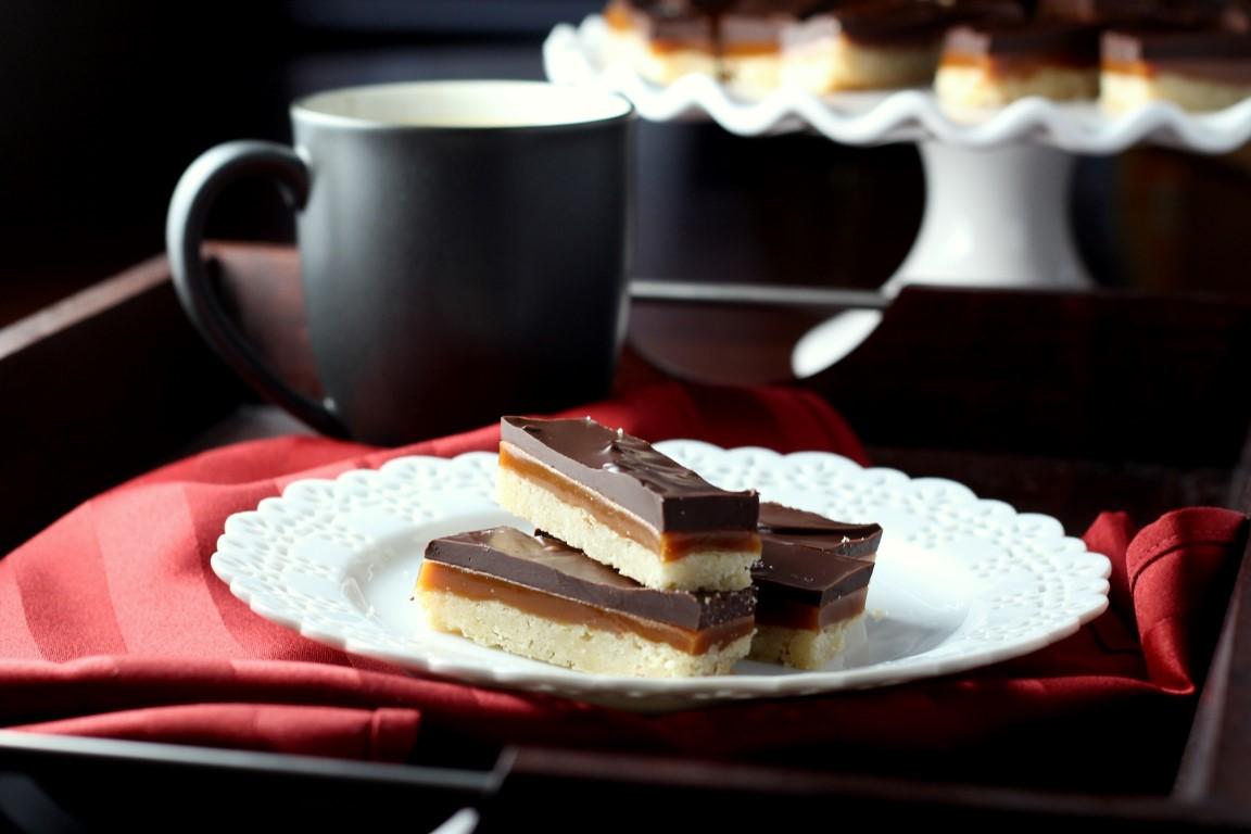 ... caramel shortbread bars print these chocolate caramel shortbread bars