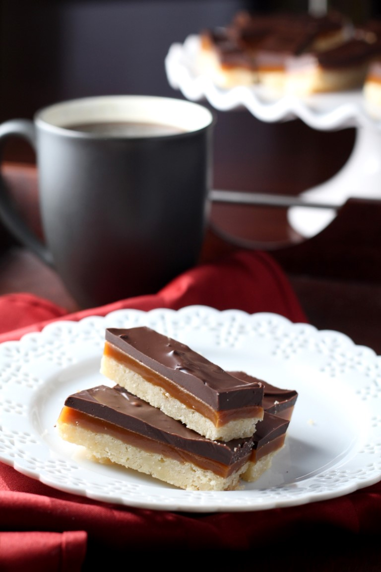 These Chocolate Caramel Shortbread bars start with buttery shortbread spread with smooth caramel and chocolate. Similar to a homemade Twix bar.