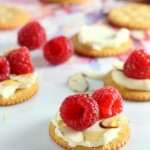 Raspberry Brie RITZ Cracker Appetizer (3)
