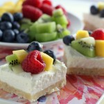No Bake Fruit Cheesecake Bars (2)