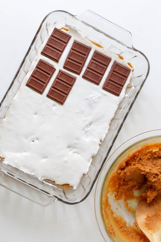 How To Make PB S'mores Bars
