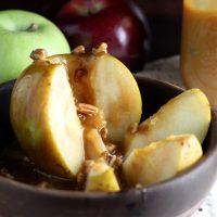 Inside Out Caramel Apples