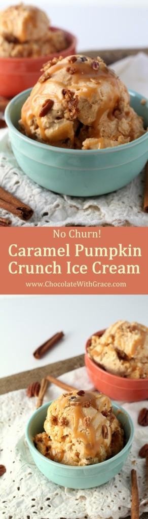 Caramel Pumpkin Crunch Ice Cream (2)