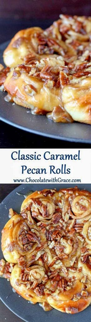 Caramel Pecan Sticky Buns are a weekend favorite