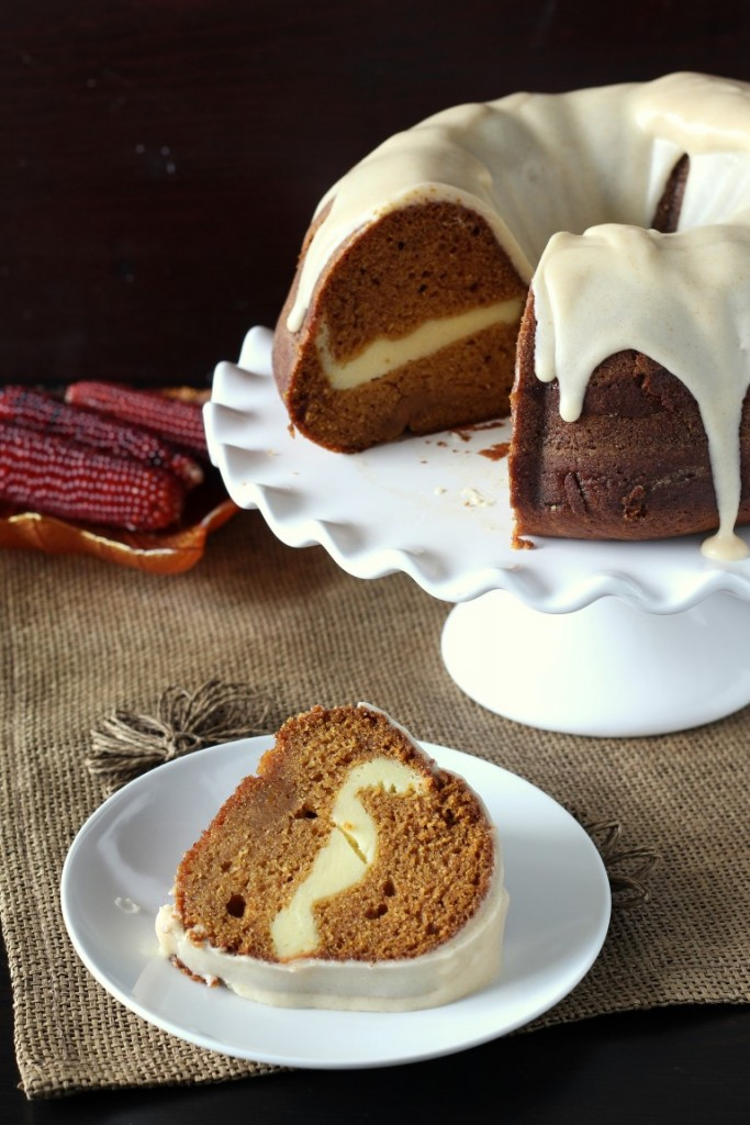 Cream Cheese Pumpkin Bundt Cake