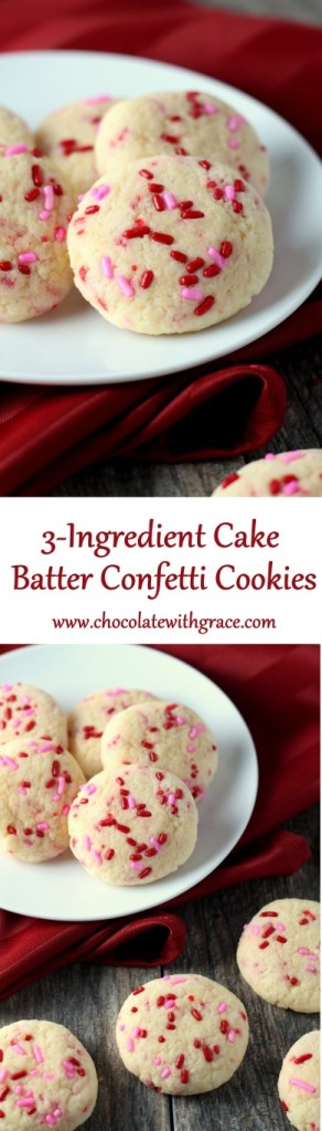 3-Ingredient Cake Batter Confetti Cookies (6)