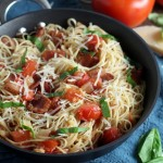 Tomato Bacon Capellini (3)