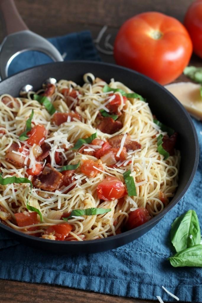 Tomato Bacon Capellini (3)