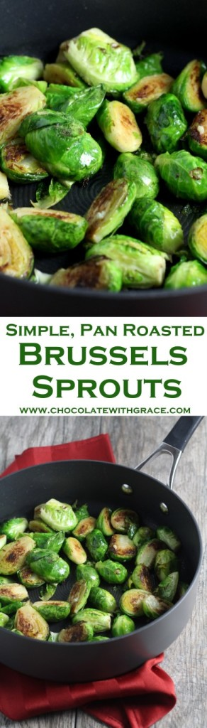 Pan Roasted Brussels Sprouts Collage (Medium)
