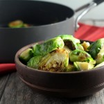 Simple Pan Roasted Brussels Sprouts (1) (Medium)