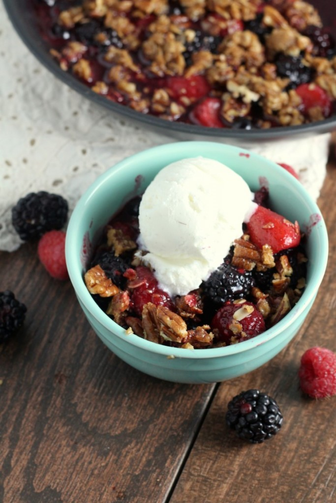 Stove Top Berry Crisp