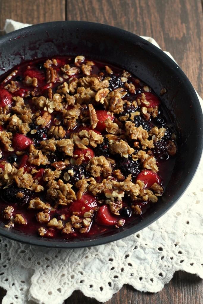 Stove Top Berry Crisp (8)