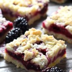 Blackberry Crumb Bars (2)