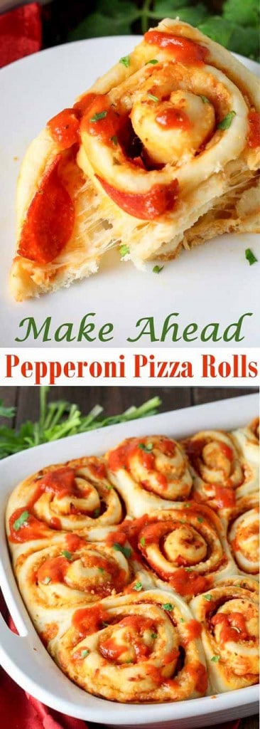 These Pepperoni Pizza Rolls beat anything you can order for take-out!