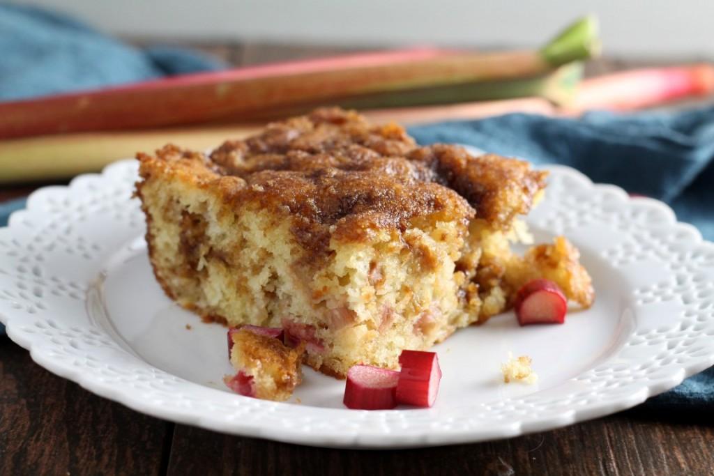 Double Crumb Rhubarb Coffee Cake (1)