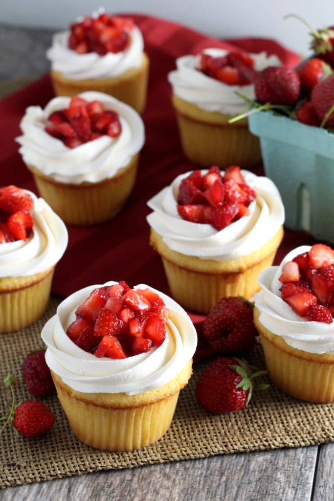 Strawberry Shortcake Cupcakes (3)