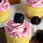 Blackberry Vanilla Cupcakes (1)