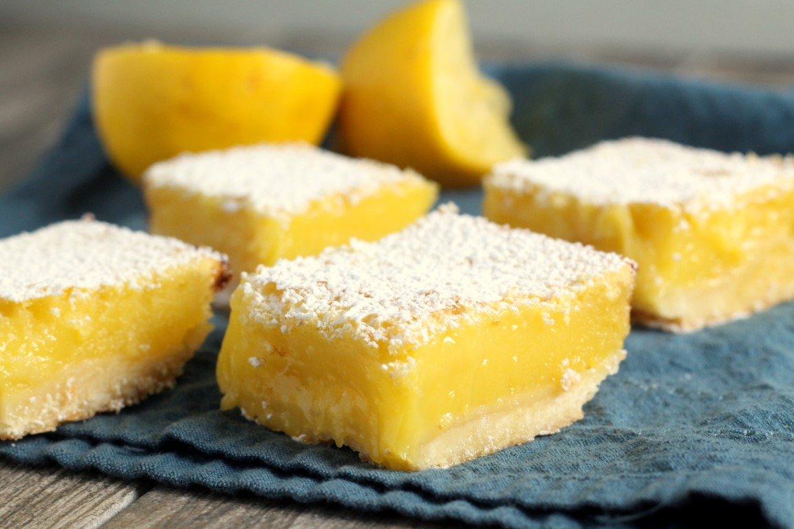 Perfect Lemon Bars - Chocolate with Grace