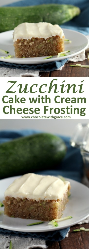Cream Cheese Frosted Zucchini Cake (1)