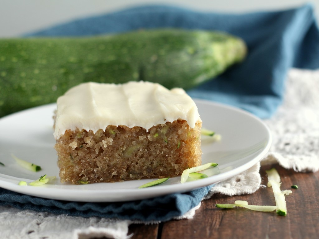 Cream Cheese Frosted Zucchini Cake (2)