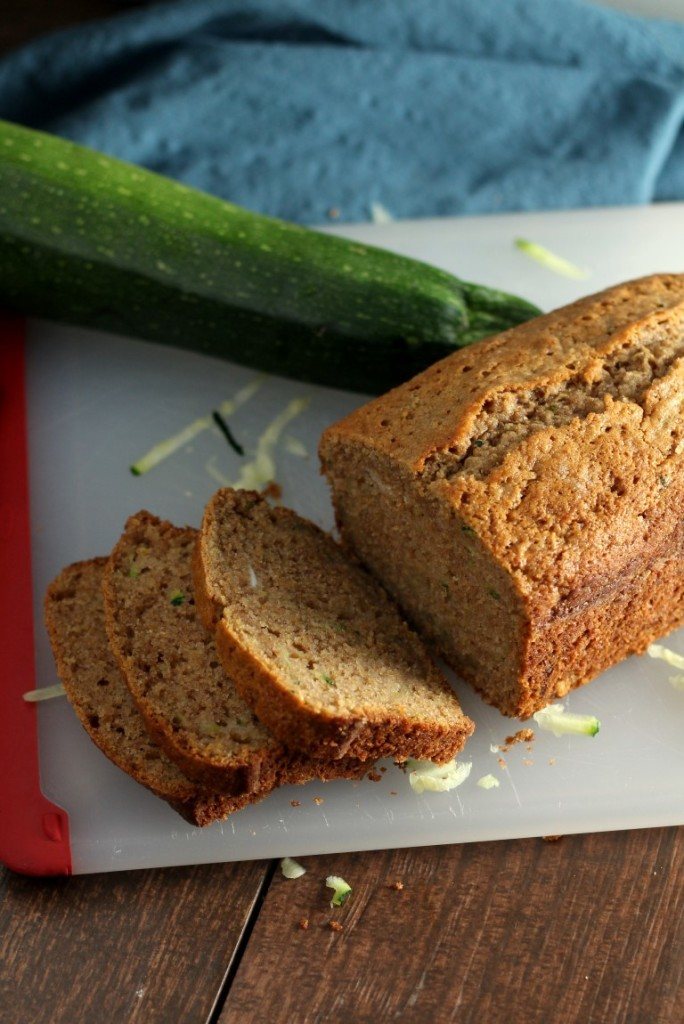 My family's favorite, easy zucchini bread recipe. Simple, moist and delicious.