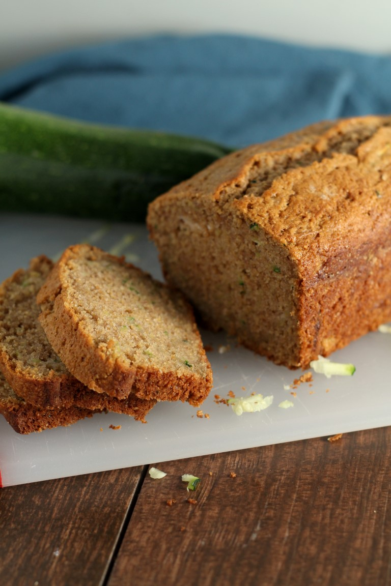 Classic Easy Zucchini Bread Chocolate With Grace