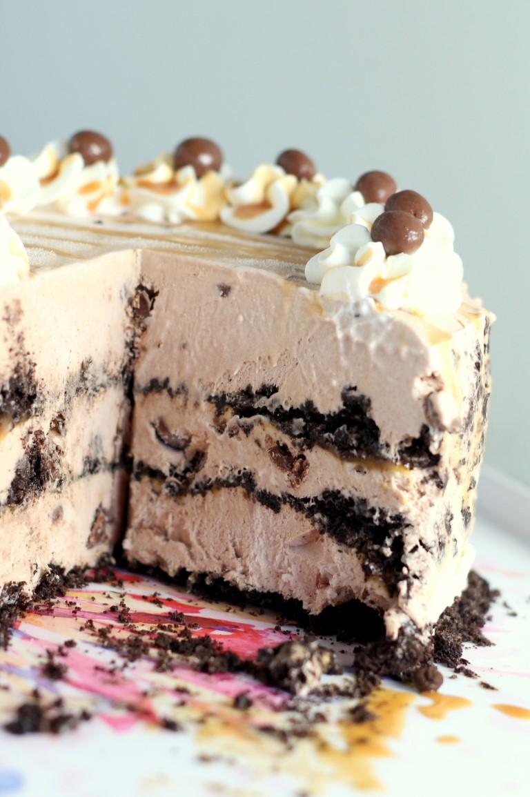 Simple Ice Cream Cake Recipe